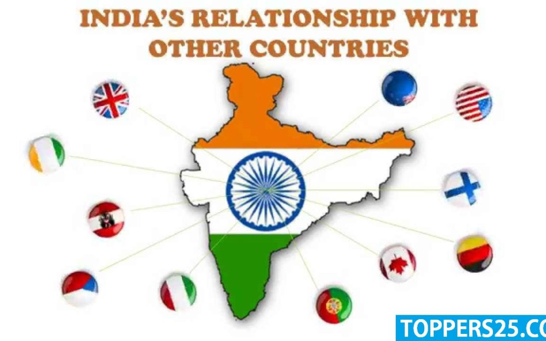 INDIA AND ITS NEIGHBORS