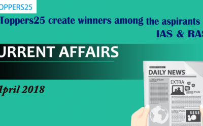 Toppers25_Current Affairs 24/04/2018
