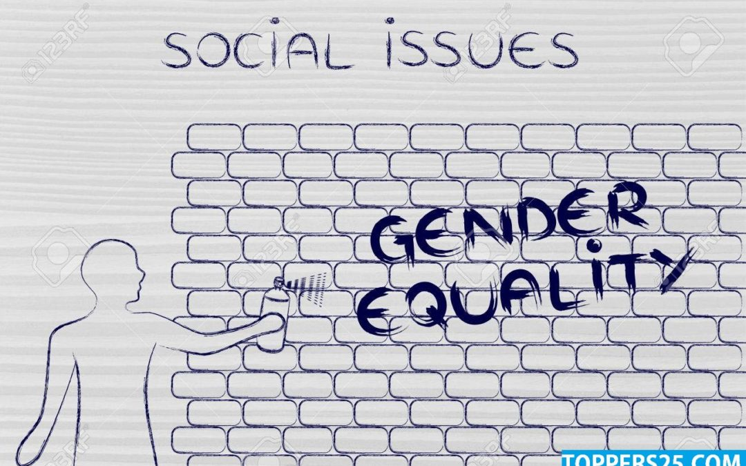 Social Issues – GENDER RELATED ISSUE