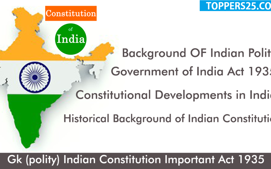 Historical Background of Indian Polity
