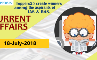Toppers25_Current Affairs 18/07/2018